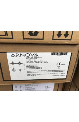 Arnova Spot Ankastre Set üstü Siyah Cam Ocak - Kaan SPOT